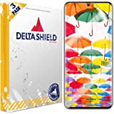 DeltaShield Screen Protector for Samsung Galaxy S20 (6.2 inch)(3-Pack)(Case Friendly Version) BodyArmor Anti-Bubble Military-