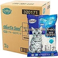 国産 ワンニャン 紙製 ブルーDEサンド(トイレに流せる猫砂) 7L×7袋 cc-nda cc-sgh