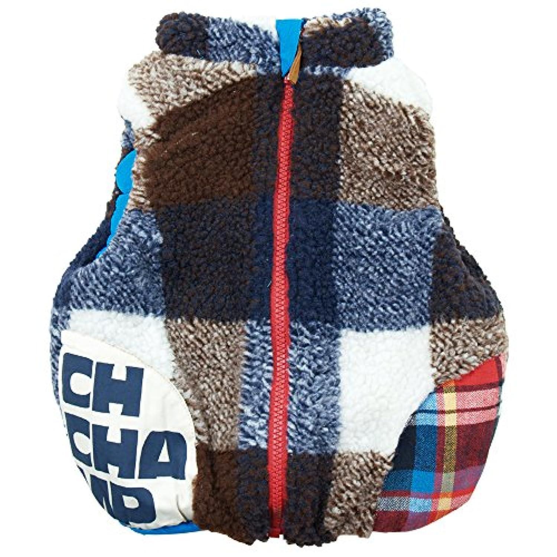 《秋冬春対応》 CHILD CHAMP(チャイルド チャンプ) ボアとナイロンのリバーシブルベスト 110cm/NB NO.C-271059