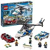 レゴ (LEGO) シティ ポリスヘリコプターとポリスカー 60138 おもちゃ 車