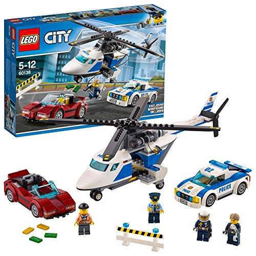 レゴ (LEGO) シティ ポリスヘリコプターとポリスカー ...