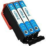ITH(C/シアン)-3本セット 【イチョウ】 エプソン用 互換 インクカートリッジ 残量表示付き APEX製の最新IC…