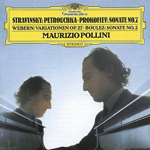 Stravinsky, Prokofiev, Webern, etc / Maurizio Pollini