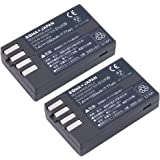 【2個セット】 PENTAX D-LI109 互換 バッテリー KP K-r K-30 K-50 K-70 K-S1 K-S2 K-500 対応 【増量】 【ロワジャパンPSEマーク付】