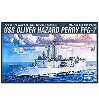 アカデミープラモデル Academy 14102 Plastic Model Kit 1/350 U.S. OLIVER HAZARD PERRY FFG-7 (海外直送品) [並行輸入品]