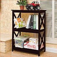 書棚リビングルームの寝室の床書棚現代のミニマリスト収納棚子供用本棚A ++(色:B)