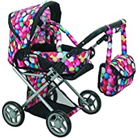 Mommy & Me - 5 in 1 Deluxe Doll Pram- 9346 [並行輸入品]