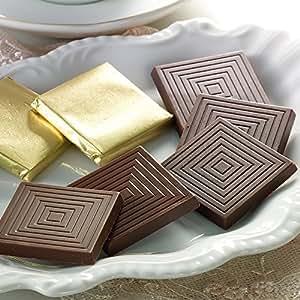 バレンタイン チョコ 糖質オフチョコレート キャレ48枚入(低糖工房)糖質制限やダイエットにおすすめ! (糖質90%オフ スイートチョコレート キャレ48枚)