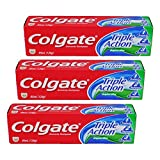 コルゲート Colgate Triple Action (95mL)126g 3個セット [並行輸入品]