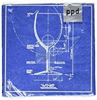 Paperproducts Design Barchitecture Wine Paper Cocktail Napkins by Paperproducts Design