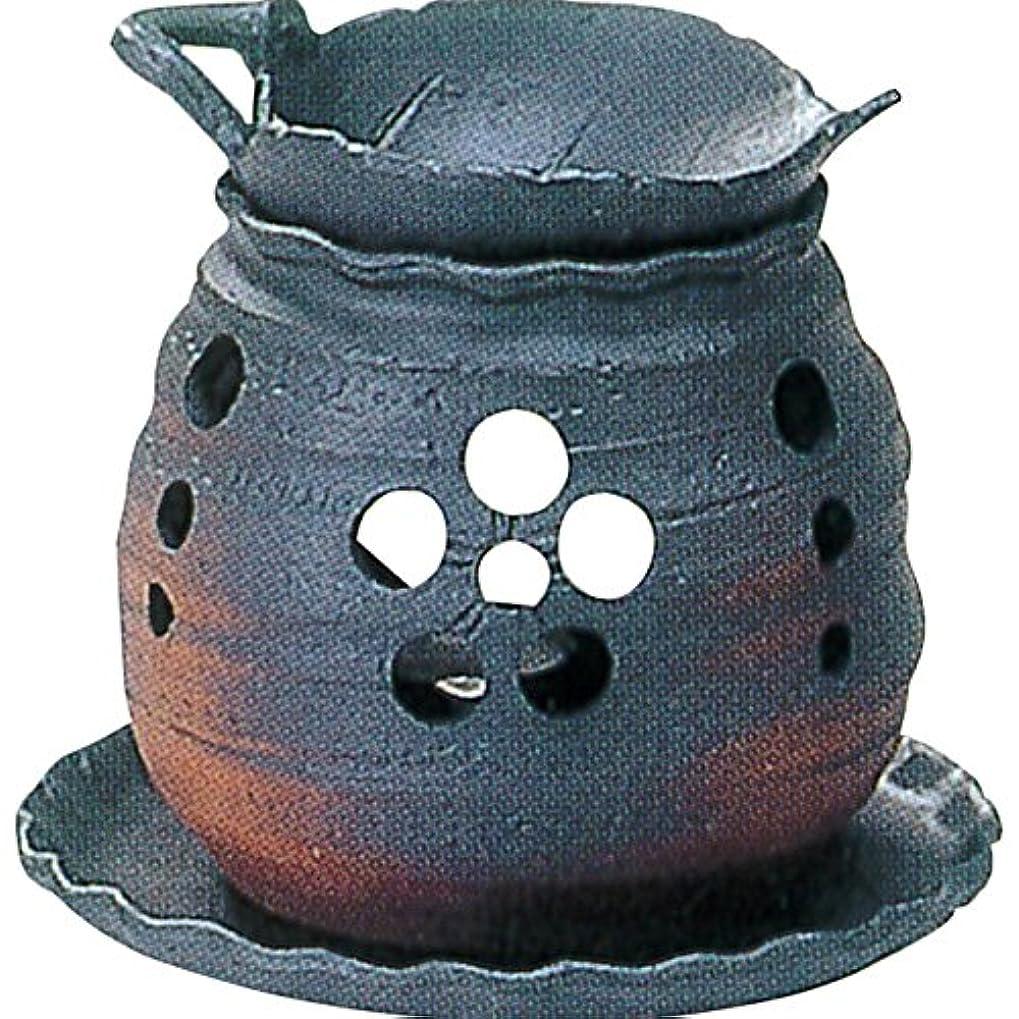 石化するゼロ泥常滑焼 ゆとり 茶香炉?カ39-05