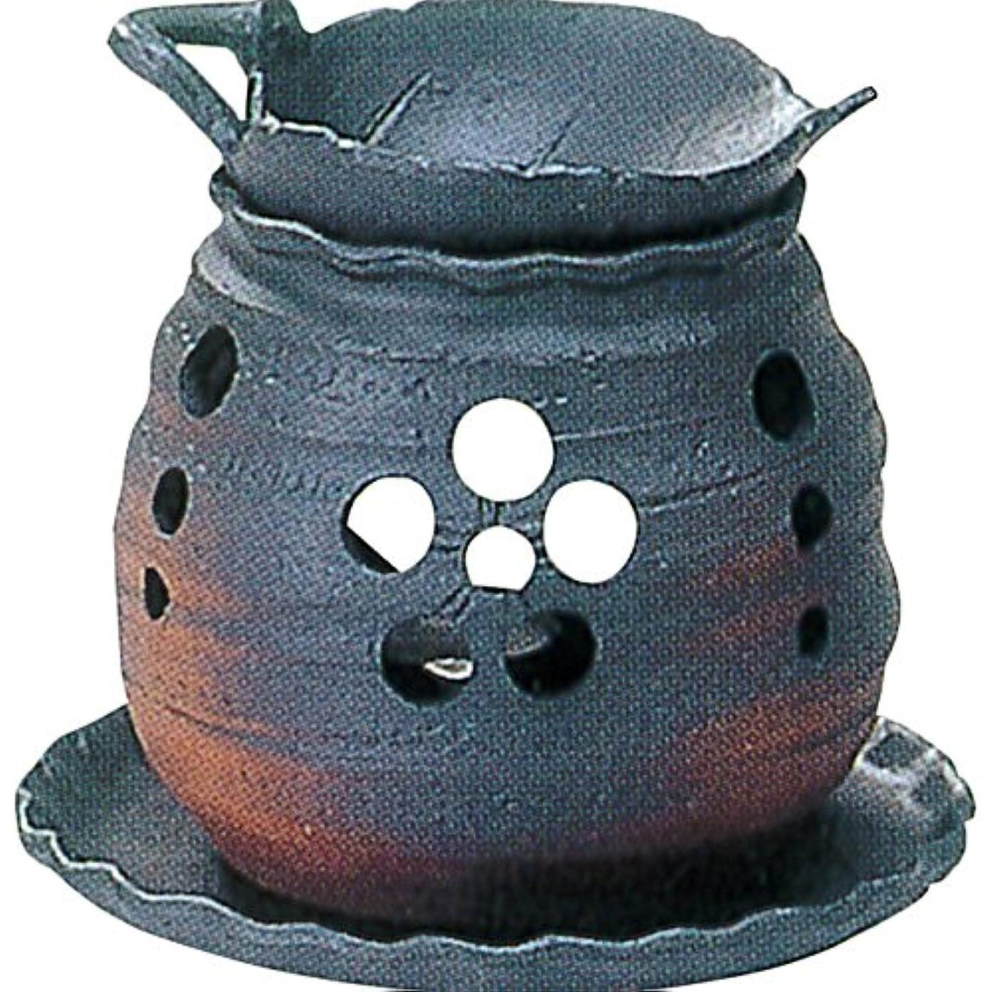 オプションすでに削減常滑焼 ゆとり 茶香炉?カ39-05