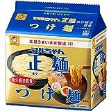 マルちゃん正麺 つけ麺 魚介醤油豚骨 5食パック (107gX5P)×6袋