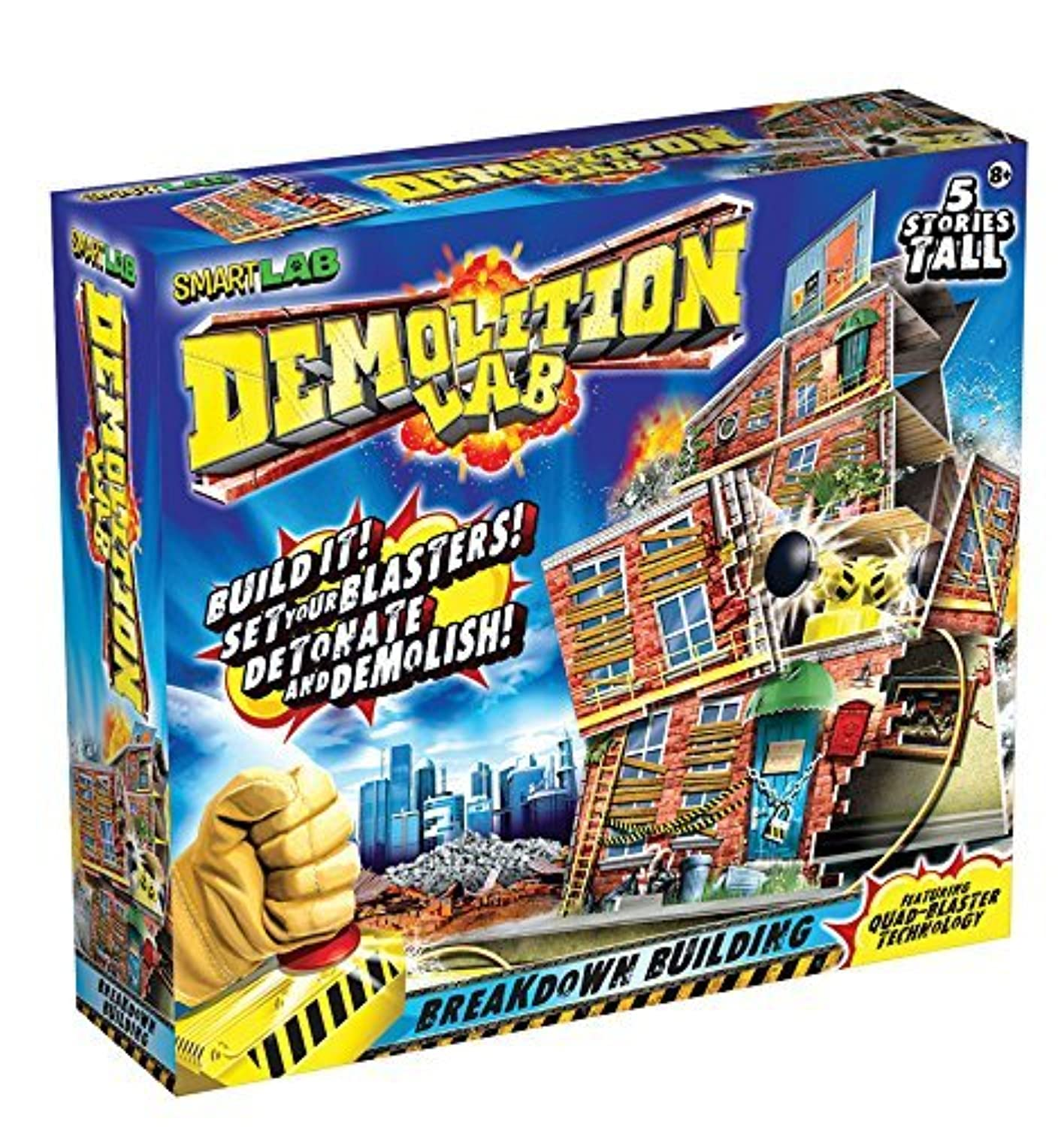 SmartLab Toys Demolition Lab: Breakdown Building [並行輸入品]