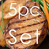 ポークチョップ★150g×5枚セット(スパイスのおまけ付き) ~本格ロースカツはこの肉から~ 【販売元:The Meat Guy(ミートガイ)】