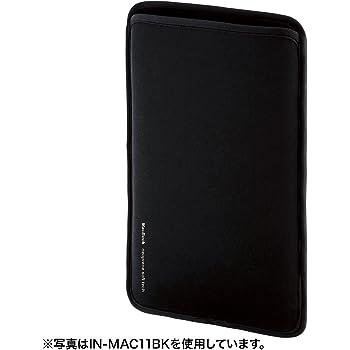 サンワサプライ MacBook 用プロテクトスーツ(12インチ) IN-MAC12BK