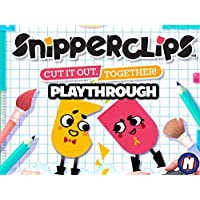 Clip: Snipperclips: Cut It Out, Together! Playthrough