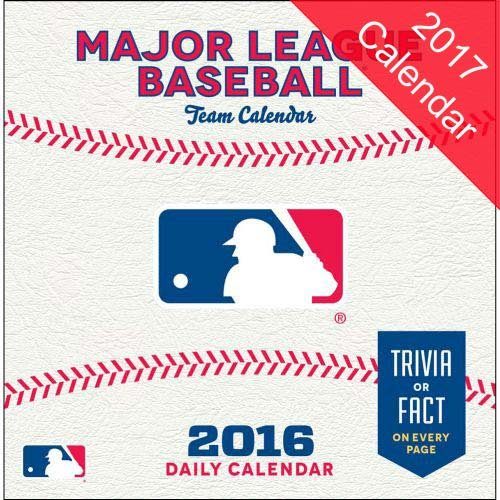 Mlb All Team 2017 Calendar