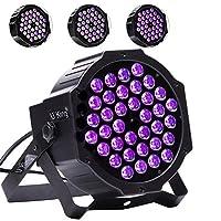 ブラックライト、U 'king 36led UV ParライトDMX制御Blacklightパーティー誕生日結婚式のことでグローエフェクトDJステージ照明 mini stage lights