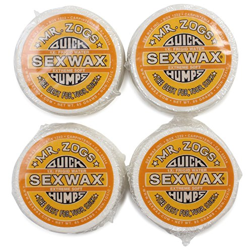 SEXWAX(セックスワックス) ワックス QUICK HUMPS 1X イエロー 4個セット