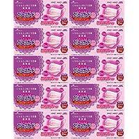 【10個セット】プリーツガード 個別包装 ピンク 女性用 30枚入