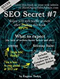 SEO Secret #7 (Silver Edition): Turn you original sitemap into seven proven traffic magnets  (English Edition)