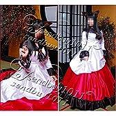 高品質コスプレ衣装  東方Project(東方輝針城) 今泉影狼 豪華版 (髪飾り、尻尾、ドレス) オーダーサイズ可能