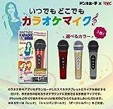 SMARTPHONE KARAOKE MIC -スマートフォンカラオケマイク- レッド