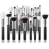 Jessup Brand 25pcs Professional Makeup Brush set Beauty Cosmetic Foundation Power Blushes eyelashes Lipstick Natural-Syntheti