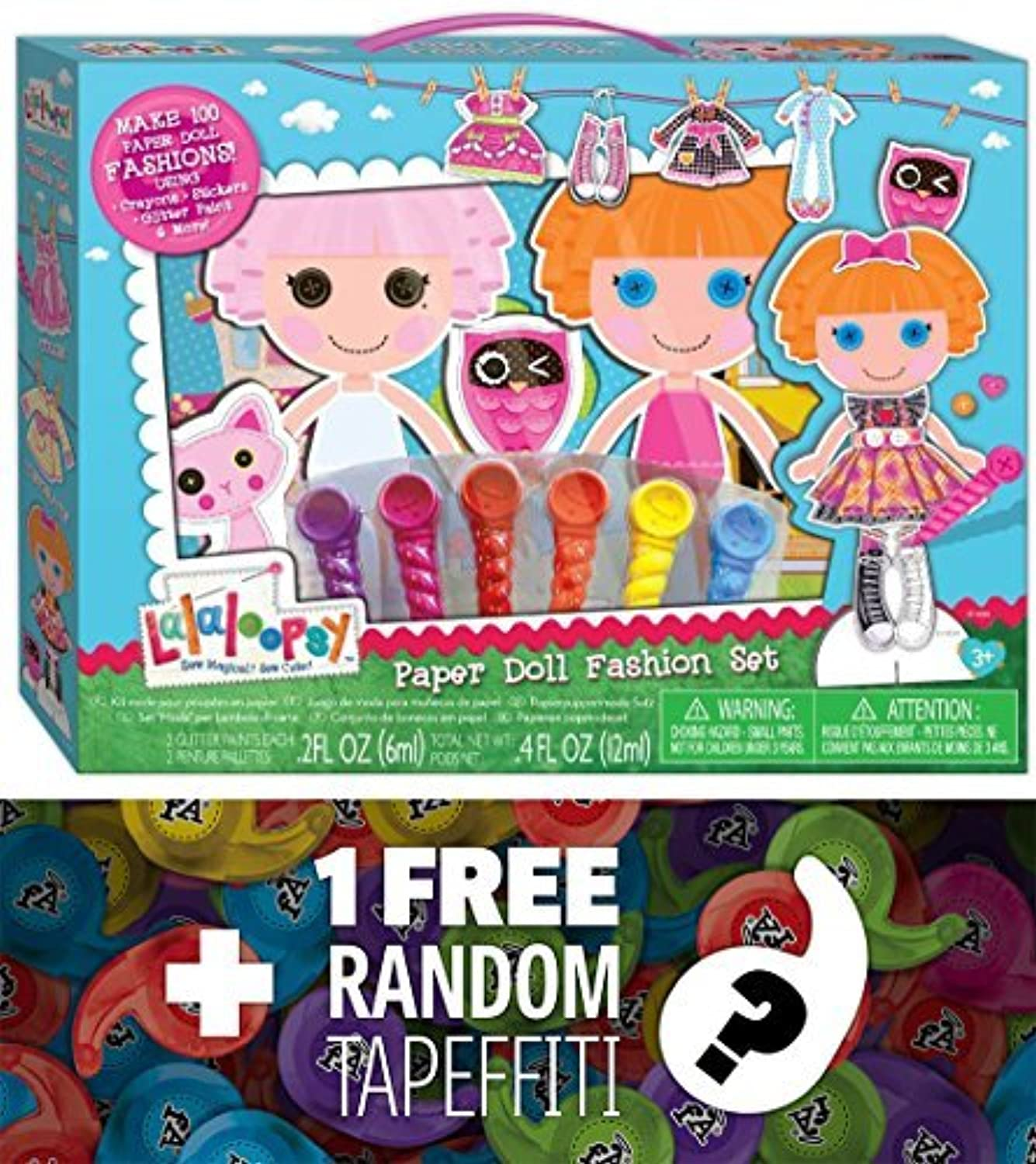 Lalaloopsy Paper Doll Fashion Set + 1 FREE Mini-Tapeffiti Bundle [525307] by Lalaloopsy [並行輸入品]