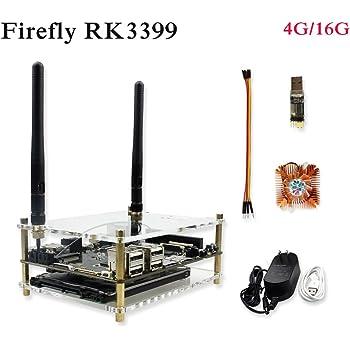 [SmartFly] Firefly RK3399 PLUS 6コア64ビット高性能プラットフォームは、AR VR用のデュアルボードデモボードをサポートしています。Android 7.1 ubuntu 16.04開発ボード 4GB DDR3