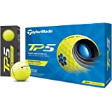 TAYLOR MADE(テーラーメイド) TP5(ティーピーファイブ) ゴルフボール 5ピース 2021年モデル N0803001 イエロー