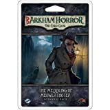 Fantasy Flight Barkham Horror The Meddling of Meowlathotep Scenario Pack Card Game