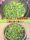 ピーマン丸ごと塩昆布炒め!ご飯に良くあう♪ How to make frying whole green pepper and Shiokonbu