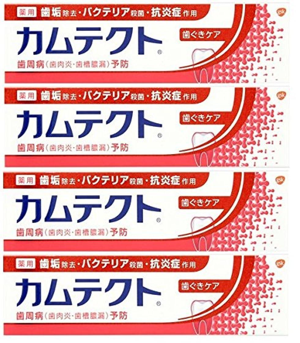 【まとめ買い】カムテクト 歯ぐきケア 歯周病(歯肉炎?歯槽膿漏) 予防 歯みがき粉 115g×4個
