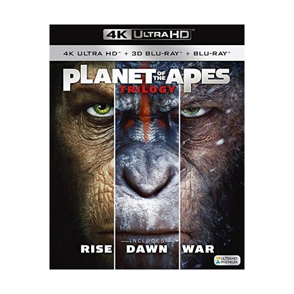 猿の惑星 トリロジーBOX (8枚組)[4K ...の紹介画像4