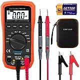 Digital Multimeter Crenova MS8233D Auto-Ranging Digital Multimeters Electronic Measuring Instrument AC Voltage Detector Porta
