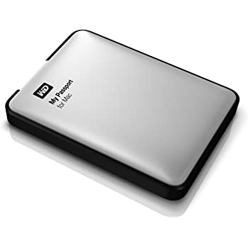WD ポータブルHDD My Passport for Mac 500GB 3年保証 USB3.0 Time Machine対応 WDBLUZ5000ASL-JESN