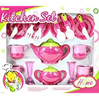 AZ Trading &インポートデラックスピンクSet for Kids with Tea Pots