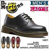 マーチンホーム Dr.Martens ドクターマーチン1461 3-EYE BOOT 3ホールブーツ男女兼用 ワークブーツ レディース メンズ エンジニア (UK7(26cm), ブラック)