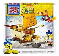 メガブロックスポンジボブスクエアパンツBurgermobileビルセット  Mega Bloks SpongeBob Square Pants Burgermobile Building Set