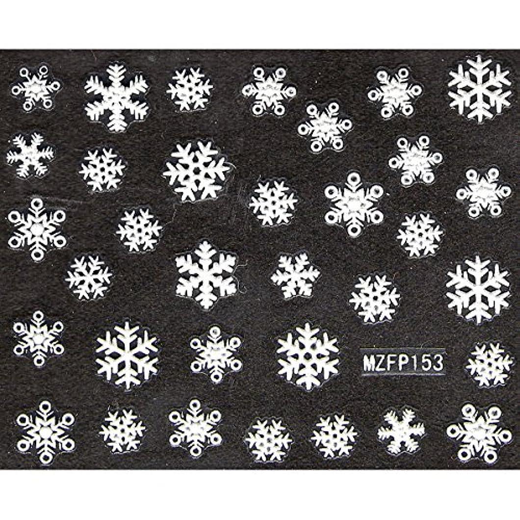 正確にペグ戦術ネイルシール 雪の結晶 選べる24種類 (Sa-09)