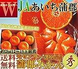 温室栽培 みかん 約2kg 愛知蒲郡産 加温 JA蒲郡 柑橘類 センサー選別品