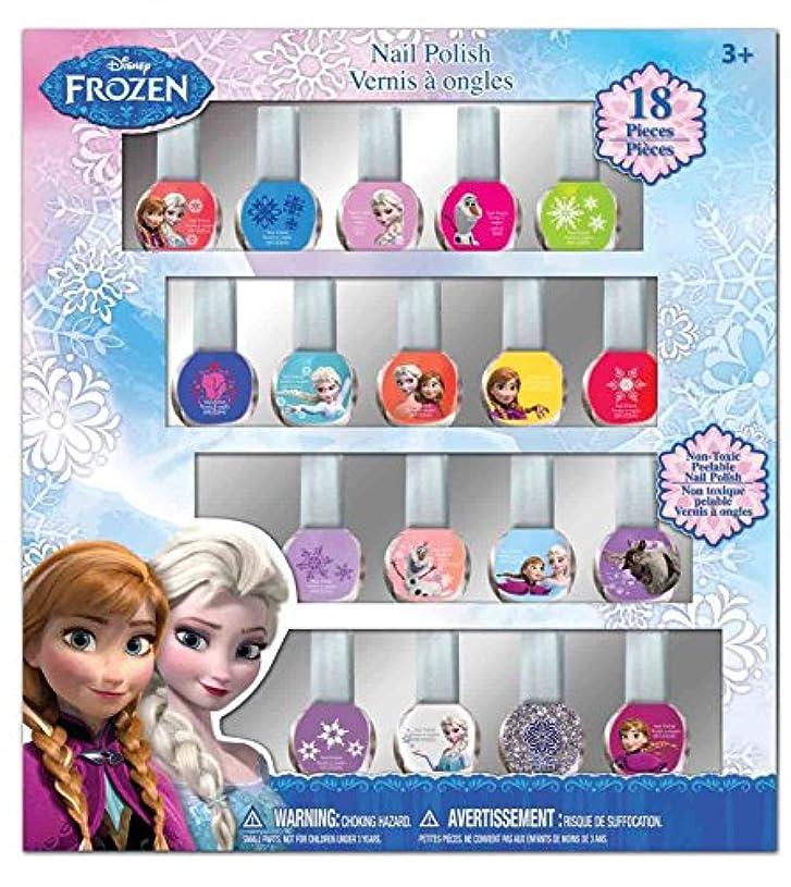 なぜ適合左ディズニー アナと雪の女王 はがせるマニュキュア18本セット Disney Frozen Nail Polish (18p)