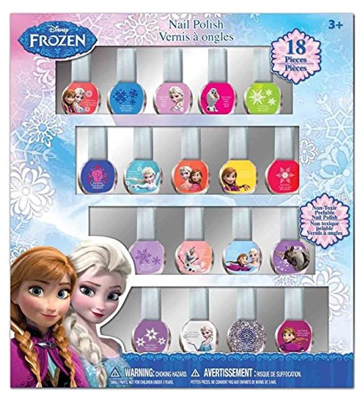 メンテナンスガス悲しみディズニー アナと雪の女王 はがせるマニュキュア18本セット Disney Frozen Nail Polish (18p)