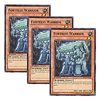 【 3枚セット 】遊戯王 英語版 BP02-EN078 Fortress Warrior マッシブ・ウォリアー (ノーマル) 1st Edition