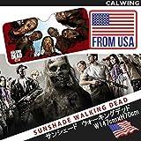 """Amazon.co.jp【汎用品】サンシェード オートサンシェード おしゃれサンシェード サイズ70x147センチ ウォーキング・デッド FROM USA インテリア タイプ """"Walking Dead"""""""