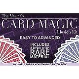 [マジック メーカー]Magic Makers The Master's Card Magic Illusion Kit 2 DVDs and a Standard Bicycle Deck [並行輸入品]