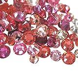 スワロフスキー(Swarovski) クリスタライズ ラインストーン ネイルサイズMIX (100粒) ピンク