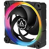 ARCTIC BioniX P120 A-RGB - 120 mm Pressure-Optimised Fan with A-RGB, PWM, Cooler, Fluid Dynamic Bearing, 400-2300 RPM - Black
